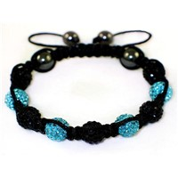 2012 New High Quality Shamballa Bracelet With Crystal Disco Ball 2008010