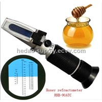 2012 refractometer Promotion!! rhb-90atc handheld honey refractometer