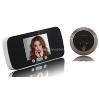 3.0-inch LCD Door Viewer with Auto-detection Infrared Night Vision and Image Zoom(OM13-P))