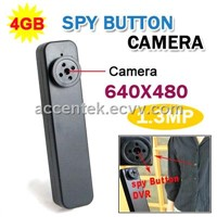 Button Camera 4GB 8GB Spy Hidden Covert Camera Mini Pinhole DVR USB Voice Video Recorder HY-900