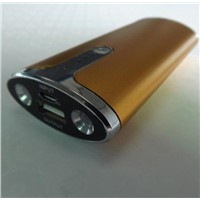 5000mAh mobile power bank /iphone ipad MP3 player power supply