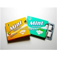 7.2 g chewing gum with blister pack