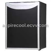Absorption Office Hotel Mini Bar, Absolutely Silent Office Hotel Mini Fridge 40 Liters