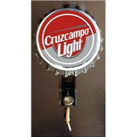 Bar Top Bottle Opener with Coaster Holder