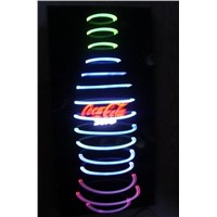 Bottle Shape Neon Look LED Indoor Light Box