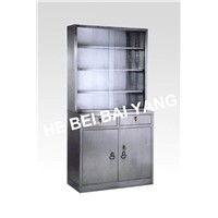 C-6 Stainless Steel Medicine Cabinet With Drawers