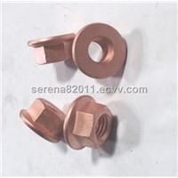 Copper Flange nut M10
