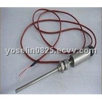 Flameproof and secure resistance thermometer