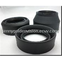 Flexiable Collapsible rubber lens hood Foldable lens hood with 3 in 1 fuction! 49mm-77mm available