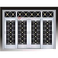 Foshan Jinan Stainless Steel Door Four Leaf stainless steel door