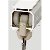 GD13 electrophoresis aluminium square curtain track for home decor