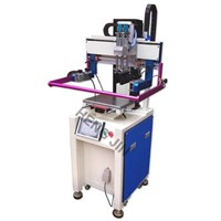 HS-260PME electric screen printing machine with servo motor for high printing accuracy