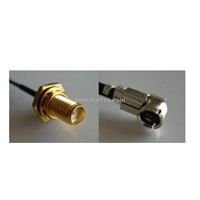 H.Fl to SMA Female Waterpoof Cable with 1.48OD L=22cm
