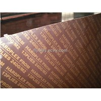 Hardplex Brown film faced plywood for Russia market