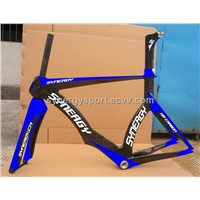 High Quality Monocoque Carbon TT Frame 700C