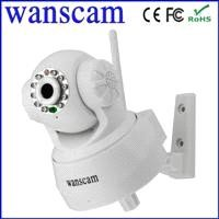 Hot Two Way Audio Wireless Wired Pan and Tilt IR  IP Video camera
