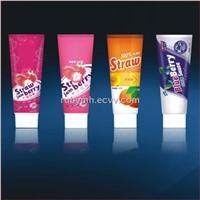 Jam packaging tube