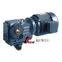 K Serial Helical Bevel Geared Motor