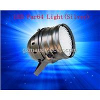 LED Par 64 Light (Silver)-LED Light