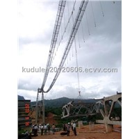 Lifting crane for stone