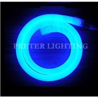 Low Power 3.9 - 8 Watt  80 / 100 / 120 Leds Blue LED Neon Flexible Light Lamp Fixtures