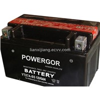 Maintenance-Free Motorcycle Battery (YTX7A-BS)