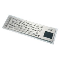 Metal Keyboard with Touchpad
