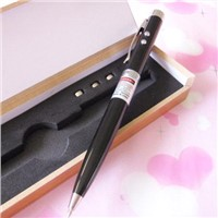Metal ball pen black 5mw Red laser