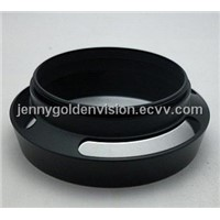 Metal vented lens hood 37mm to 77mm available