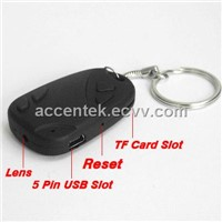 Mini Car Key Spy Hidden DVR Camera 808 For High Resolution Pinhole Covert Audio Video Recording