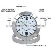 Mini Table Clock Spy Hidden Camera ACE-V520 Motion Detection Desk Clock Surveillance DVR