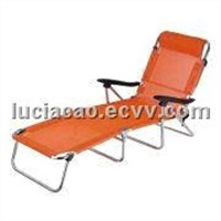 Outdoor Beach Folding Chair, Made of 600D Oxford Fabric, with 450g Textile Cover
