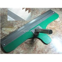 Paint Notched Squeegee for self leveling flooring