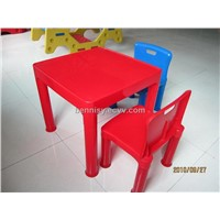 Plastic desk and table for kindergarden, plastic chairs,school chair and desk,plastic furniture