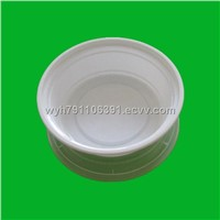 Plastic packaging trays with lids