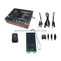 Portable Solar Charger for PDA, MP3&4, Mobile phone etc (HR-SC002)