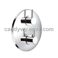 Round Concealed Thermostatic Shower Valve with 3 Way Diverter (TLL9420)