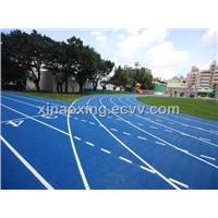 Rubber Running Track Surface, Huadong Track