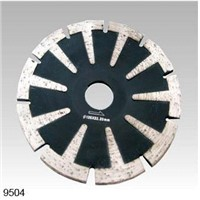 Sintered Segmented Concave Diamond Blade