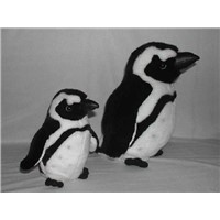 "Stuffed 8"" Standing Penguin, Plush Toy, Wild Animal Toy"