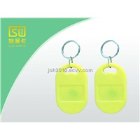 Supply Standard approval housing door Rfid tags access keyfob with nfc tag