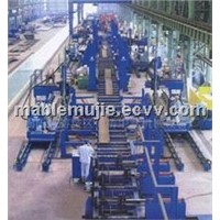 Supplying steel rolling mill production line