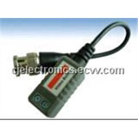 Twisted-Pair Video Transmitter-Passive Video Balun (CJ-201E)