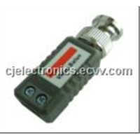 Twisted-Pair Video Transmitter Passive Video Balun (CJ-202E)