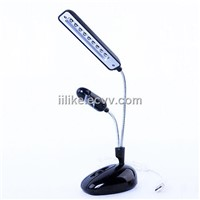 USB light & fan with stand 9*LED