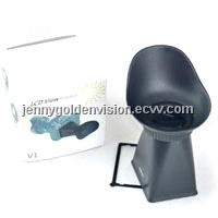 V2 LCD Viewfinder 2.8x Magnifier Extender Magnetic Hood for Canon EOS 550D