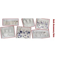 ceramic bath accessory sets,porcelain bathroom accessory sets