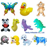 inflatable toys, inflatable animal toys, small inflatable animal toys for pools
