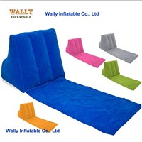 inflatable wedge back pillow, inflatable wedge cushion, inflatable wedge pillow