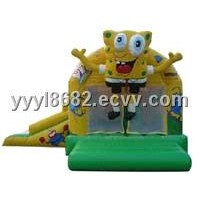 Sponge Bob Inflatable Bouncy Castle
